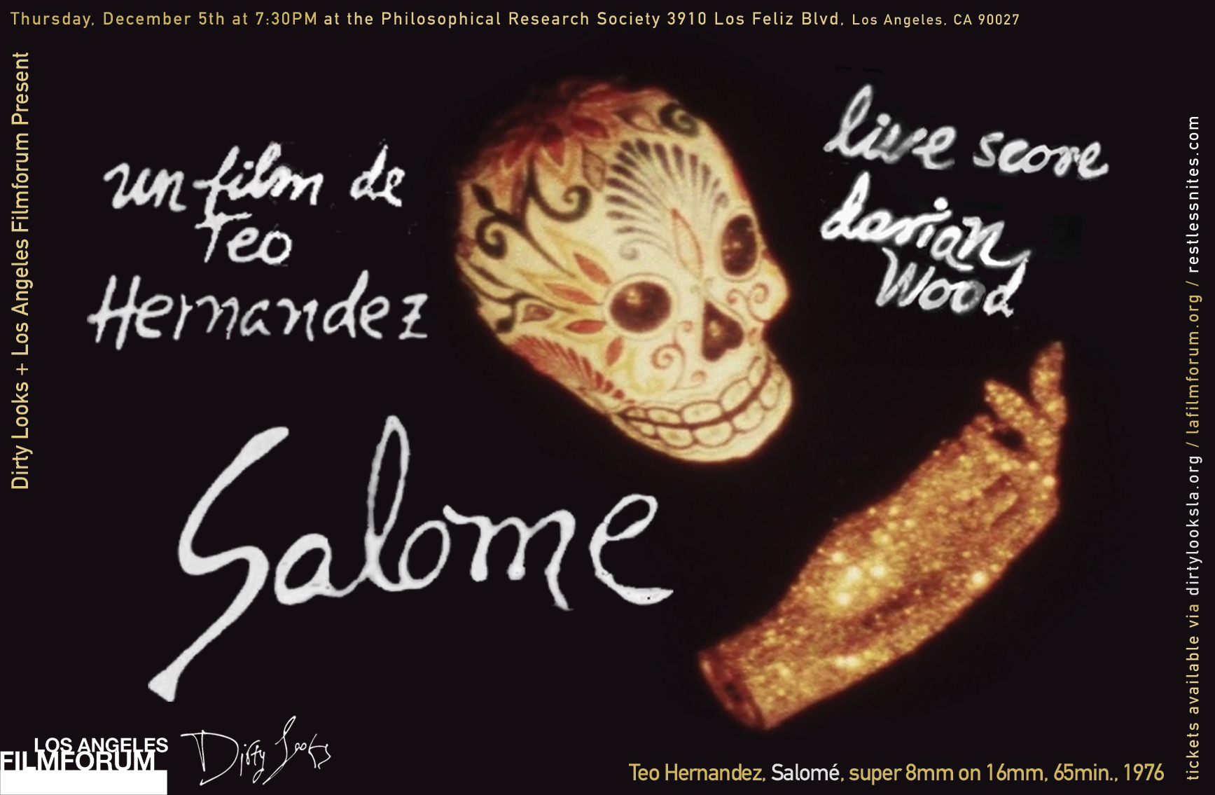 Salomé, a film by Teo Hernandez. Live score by Dorian Wood