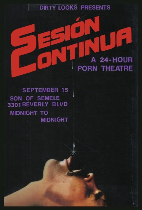 Sesión Continua: a 24-hour porn theatre